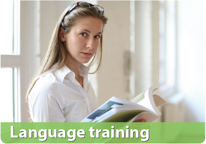 Language training English